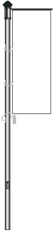 Fahnenmast GS4 100